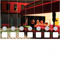 Ordneretiketten Lego