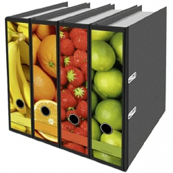 FileSticker ordnerruggen fruit