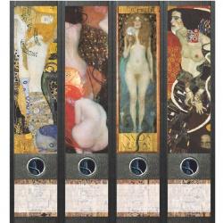 File Art ordneretiketten - Gustav Klimt