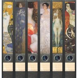 File Art ordneretiketten - Gustav Klimt 6 etiketten