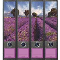 File Art ordneretiketten - Lavendelveld