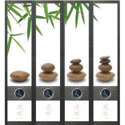 File Art ordneretiketten - Feng Shui